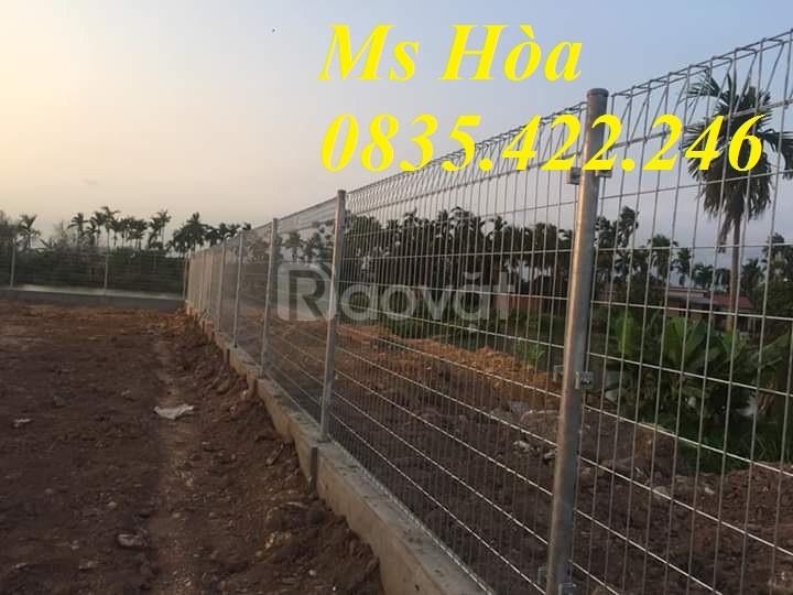 Chuyên sản xuất lưới thép hàng rào mạ kẽm, sơn tĩnh điện hàng có sẵn (ảnh 6)
