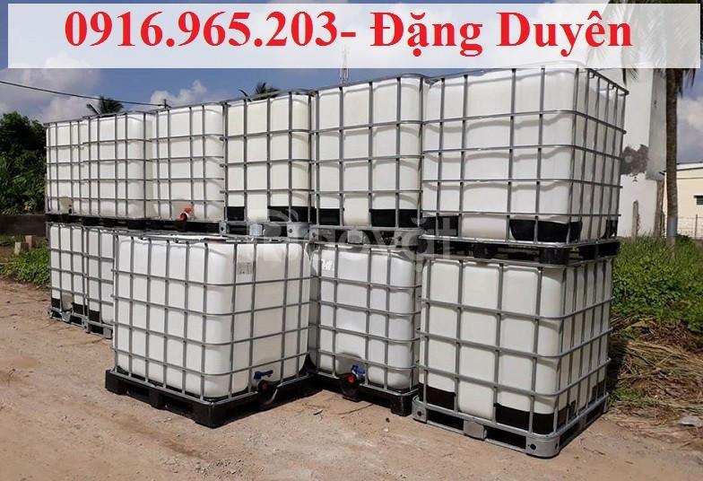 Tank nhựa trắng ibc 1000 lít (ảnh 5)