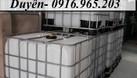 Tank nhựa trắng ibc 1000 lít (ảnh 1)