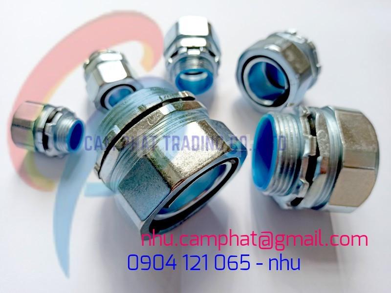 Đầu nối ống ruột gà lõi thép kín nước và phụ kiện ống ruột gà lõi thép
