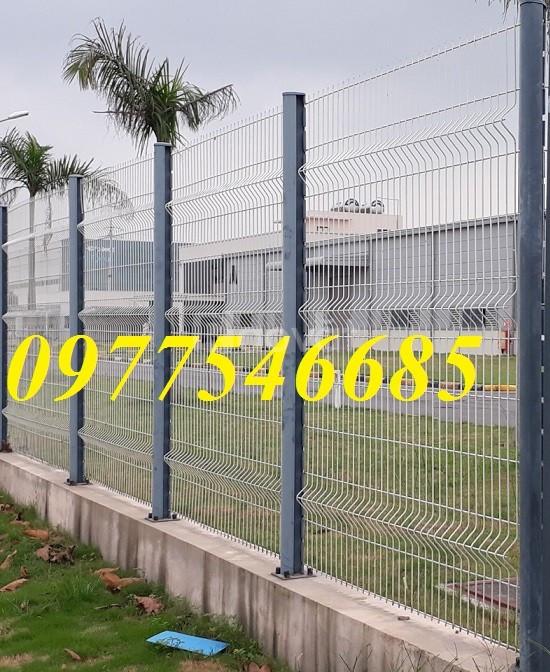 Lưới hàng rào mạ kẽm làm hàng rào bảo vệ làm ngăn kho (ảnh 1)