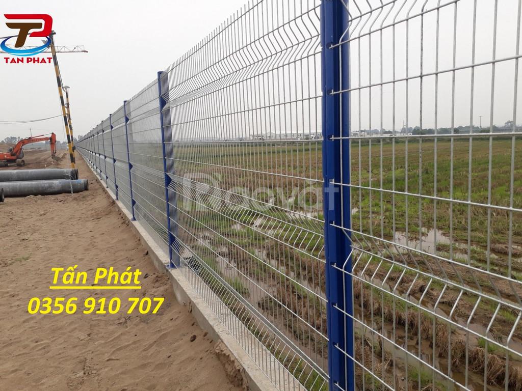 Hàng rào ngăn kho, hàng rào mạ kẽm, hàng rào lưới thép bảo vệ