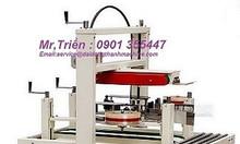 Máy dán băng keo thùng carton WP-5050 SA giá tốt M.Nam, M.Tây, M.Đông
