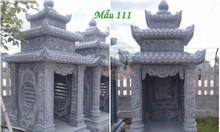 Miếu thờ thổ thần đẹp bằng đá mẫu 111