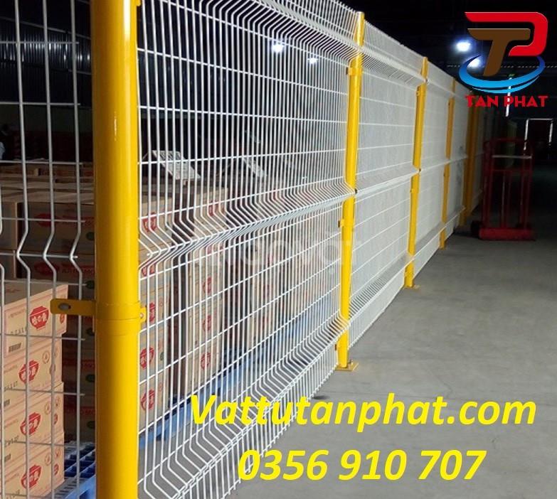 Hàng rào lưới thép, hàng rào chắn sóng, hàng rào thép giá rẻ D5