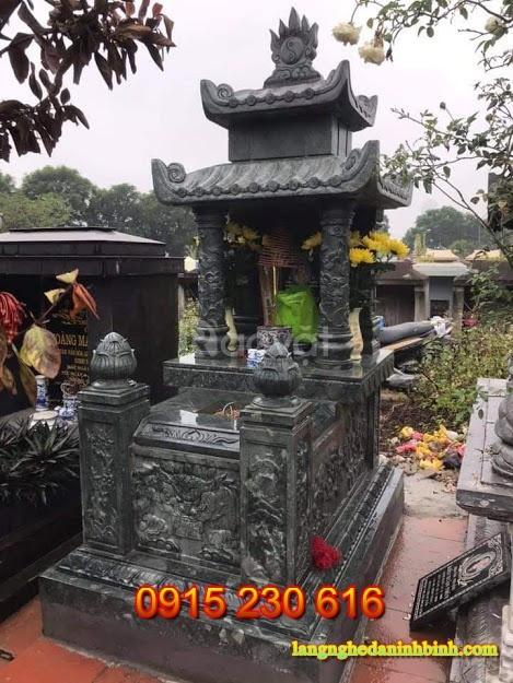 Mộ đá đẹp ở Bắc Ninh