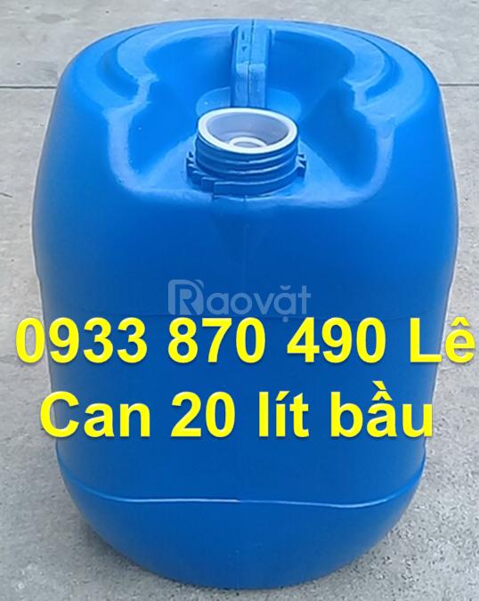 Can nhựa 10 lít đựng dung môi, can đựng axit 20 lít dày , can nhựa 25L