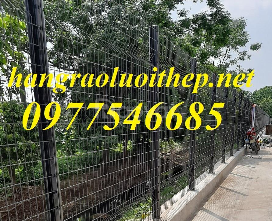 Lưới hàng rào mạ kẽm làm hàng rào bảo vệ làm ngăn kho (ảnh 3)