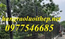 Lưới hàng rào mạ kẽm làm hàng rào bảo vệ làm ngăn kho