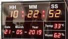 Bảng led đo nhiệt ẩm thiết bị công nghiệp điện tử (ảnh 3)