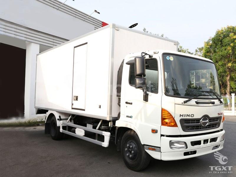 Giá xe tải hino 6T5/ hino fc 6.5 tấn thùng bảo ôn/ xe tải hino 6tan5  (ảnh 1)