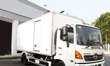 Giá xe tải hino 6T5/ hino fc 6.5 tấn thùng bảo ôn/ xe tải hino 6tan5
