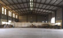 Cho thuê kho xưởng DT 1100m2 KCN Lại Yên Hoài Đức Hà Nội