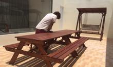 Bộ bàn ghế chữ a, phủ bì