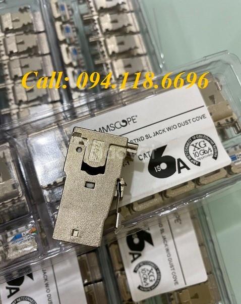 Ổ cắm mạng  CommScope AMP Cat6A Modular Jack 1711342-2/ 2153001 - 10G