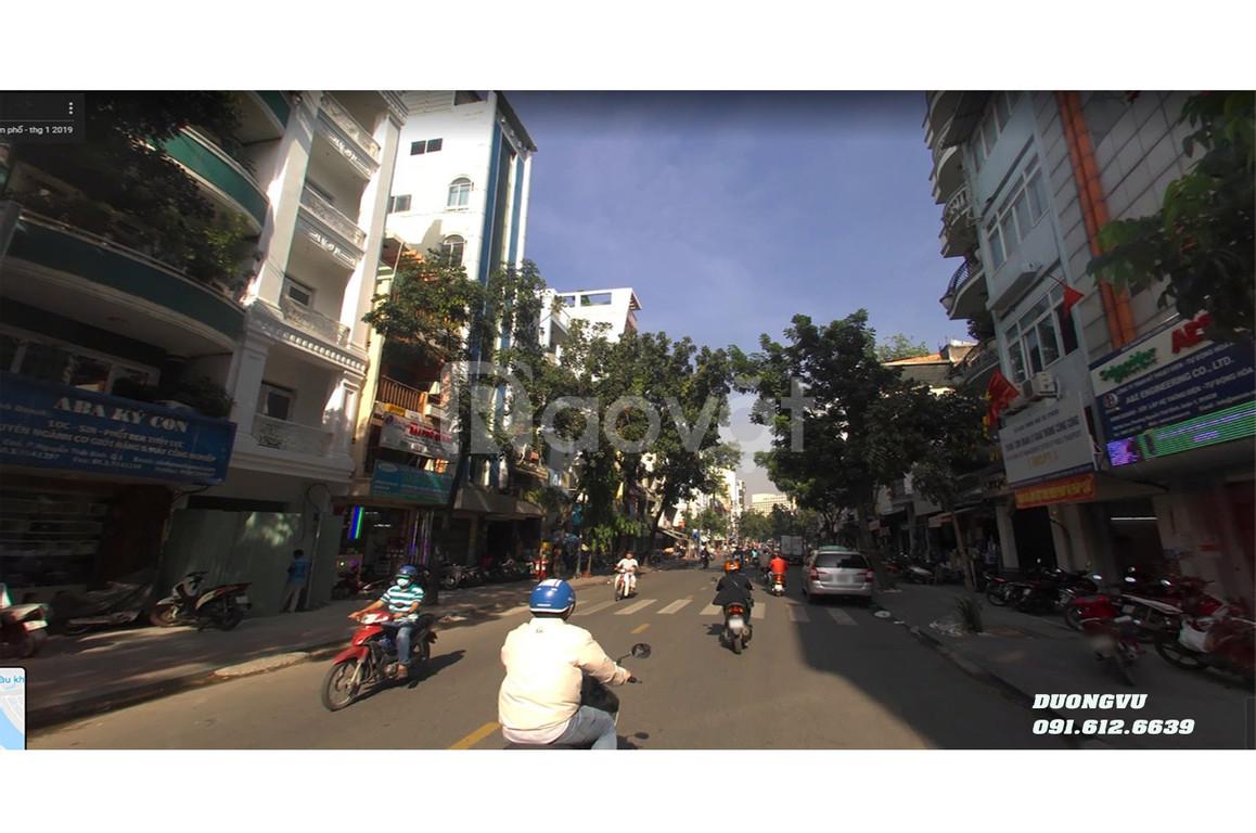Bán toà nhà KD Spa 105 Ký Con, p Nguyễn Thái Bình, Q1, 80m2 45 tỷ