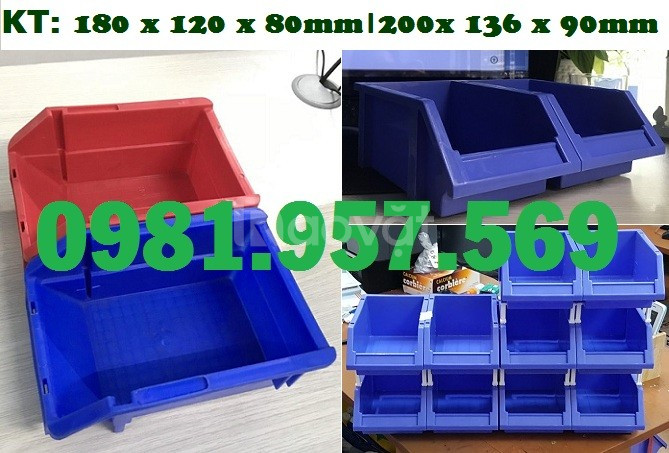 Khay nhựa cơ khí, khay nhựa xếp chồng, khay nhựa các loại