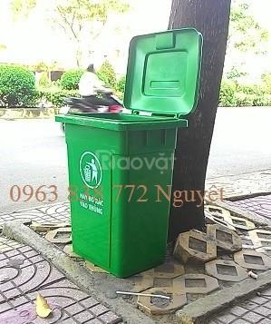 Thùng rác 60 lít - thùng rác 90 lít - 95 lít  (ảnh 5)