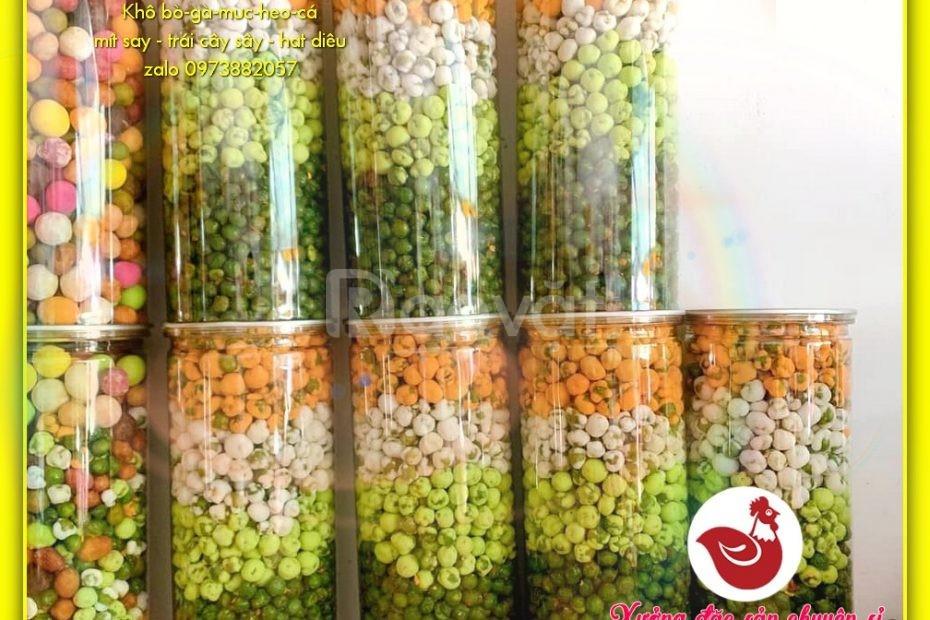 Đậu Hà Lan mix 5 vị đầy màu sắc khơi vị ngon, hủ pet 450g
