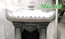 Cây hương thờ thần linh ngoài trời bằng đá mẫu109
