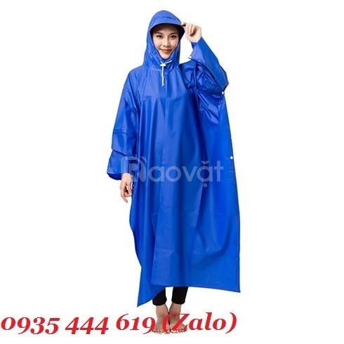 Sản xuất áo mưa in logo quảng cáo tại Quảng Ngãi