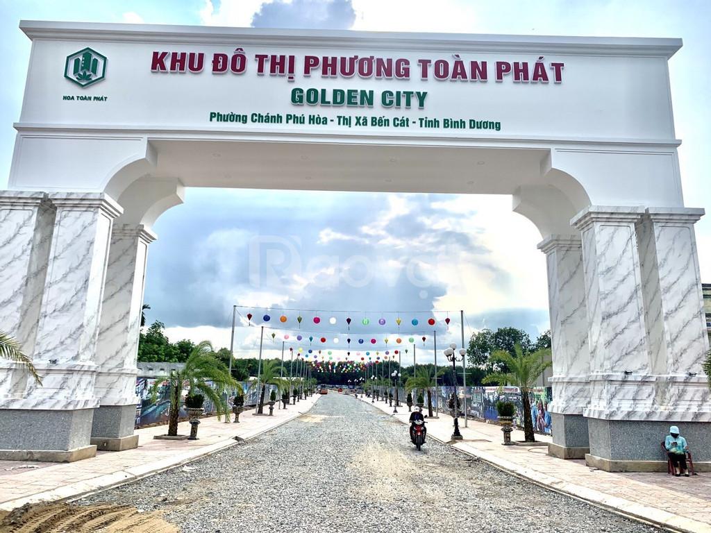 699tr/nền SHR, thổ cư xây dựng tự do Chánh Phú Hòa thị xã Bến Cát (ảnh 1)
