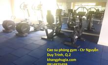 Gạch cao su phòng gym giá tốt