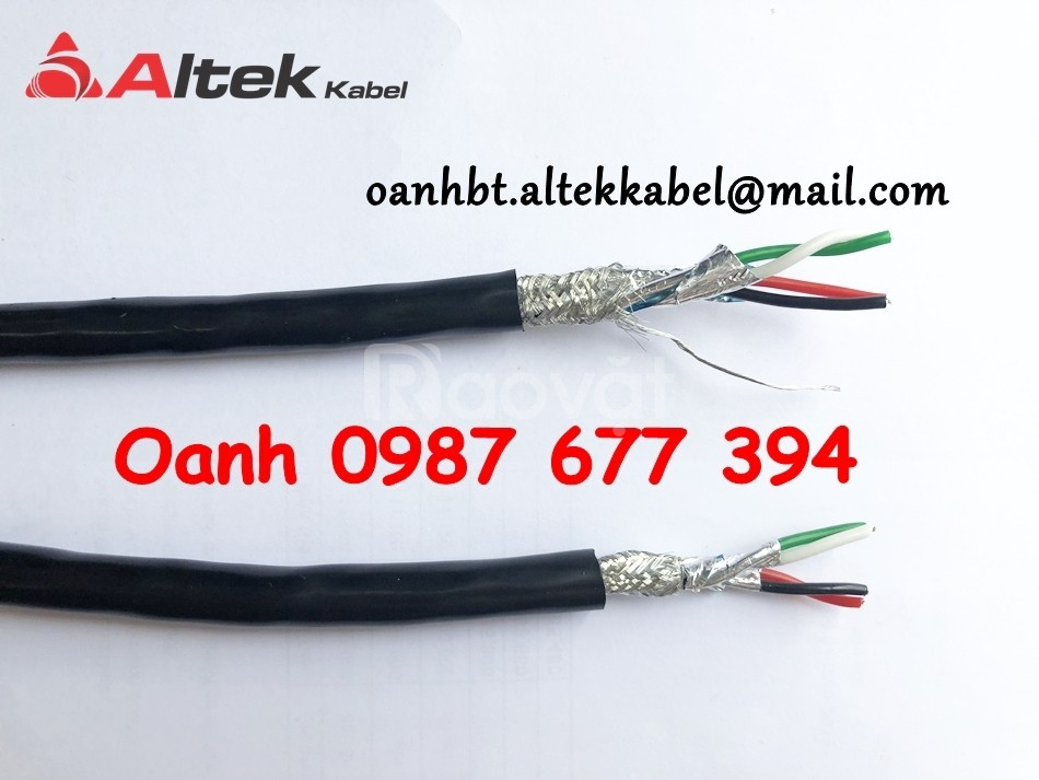 Cáp tín hiệu RS485 1 pair 24AWG, Cáp tín hiệu Altek Kabel