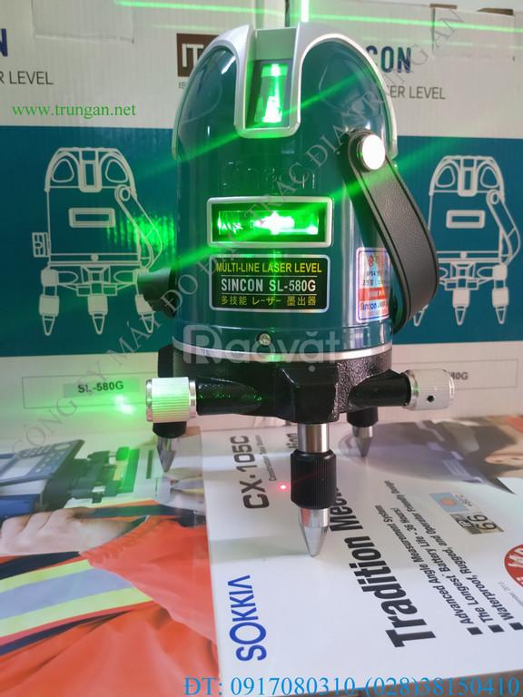 Máy cân bằng laser tia xanh Sincon SL-580G