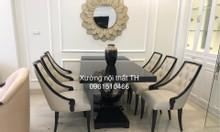 Bộ bàn ghế ăn tân cổ điển độc đáo cho không gian ngôi nhà sang trọng