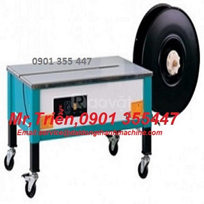 Máy đai niềng thùng pallet SP3 chính hãng Wellpack giá rẻ B.Dương, HCM
