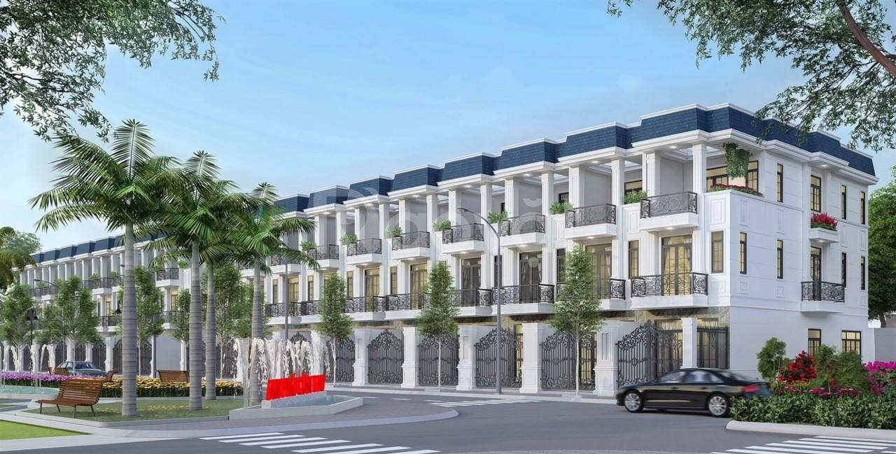 Nhà phố An Phú 2 tầng thiết kế đẹp và hiện đại vị trí vàng Cần Thơ