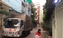 Nhà hẻm  rộng xe tải tránh đường Bùi Đình Túy 3 tầng 4.2m x12m