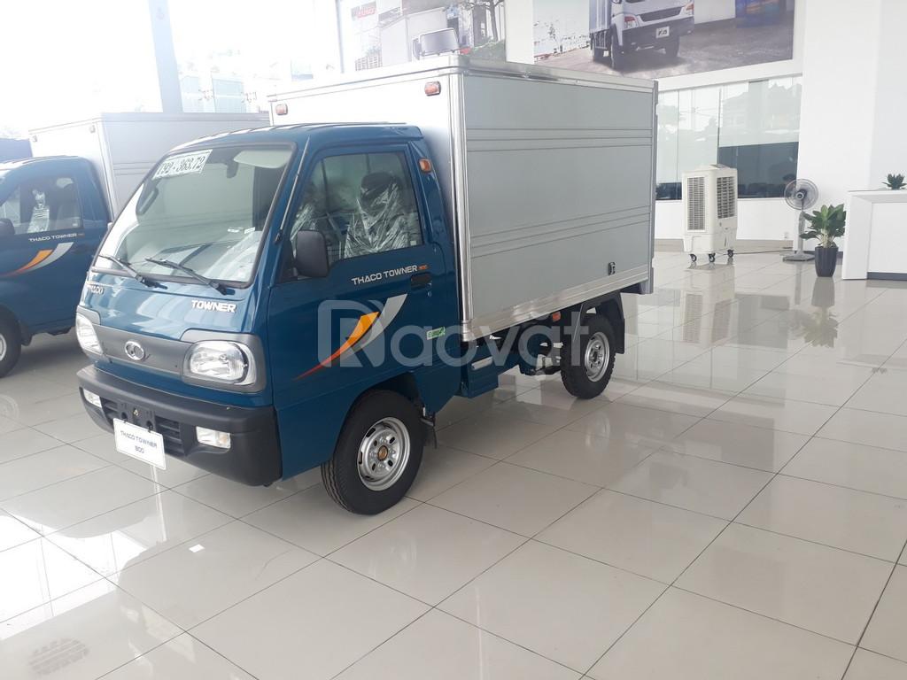 Xe tải Thaco Towner 800 tải trọng 9 tạ tại Hải Phòng