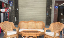 Bàn ghế sofa mây tự nhiên cổ điển