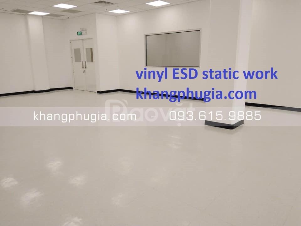Sàn vinyl ESD chống tĩnh điện giá tốt