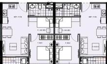 2 căn hộ đập thông VHSC, vừa rẻ vừa diện tích lớn, ban công Đông Nam