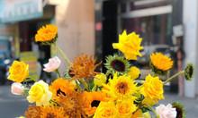 Lẵng hoa tươi cao cấp chúc mừng sinh nhật