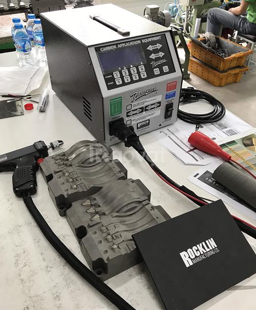 Cách làm tăng độ cứng kim loại bằng máy Rocklinizer - Mỹ