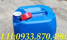 Bán can nhựa 30L vuông đựng hóa chất, can nhựa 25 lít đựng xăng, dầu