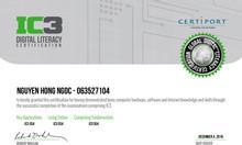 Thi chứng chỉ IC3 Hà Nội= pass 100%
