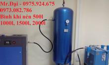 Bình tích áp khí nén 500 lít, 1000l, 1500l, 2000l