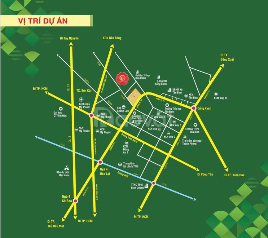 Đất nền Bến Cát, KCN VSIP 2, gần chợ Chánh Lưu, dự án Phương Toàn Phát (ảnh 6)