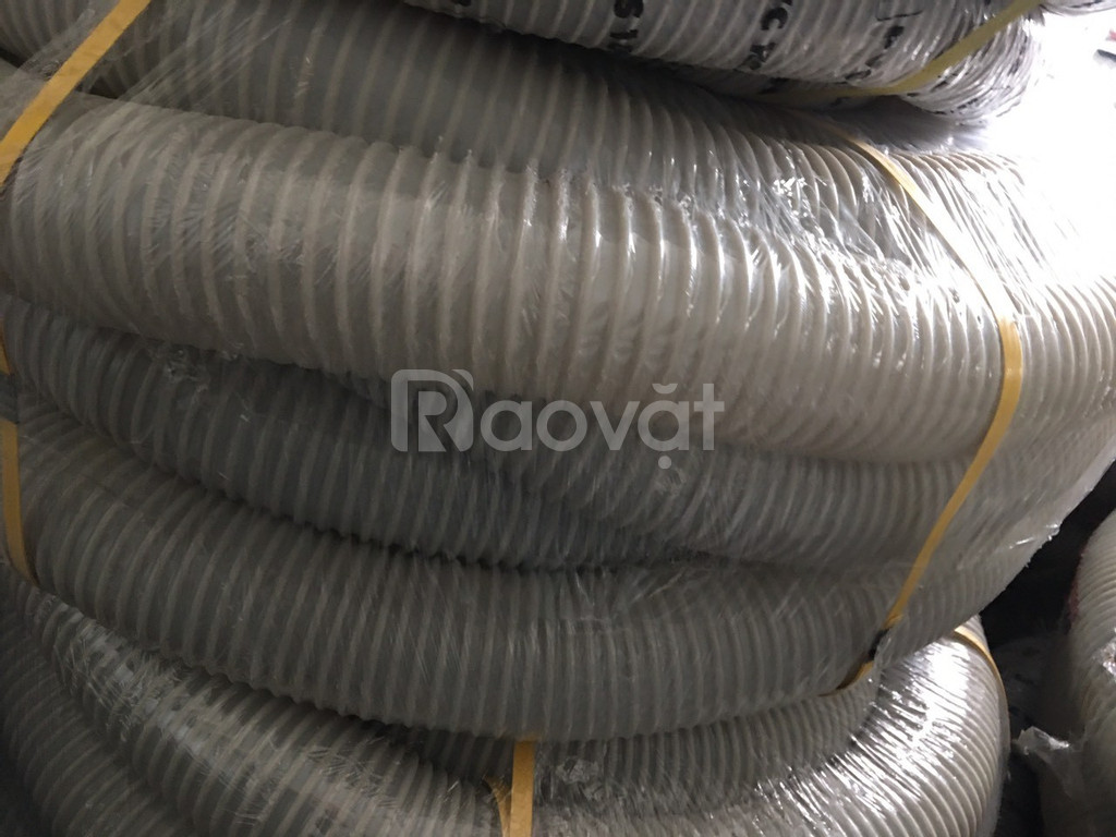 Khuyến mại lớn ống hút bụi gân nhựa phi 50, phi 60, phi 76 giá rẻ.