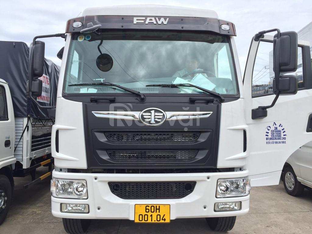 Giá bán xe tải faw 8 tấn thùng dài 8m, xe Giải Phóng 8 tấn thùng dài.