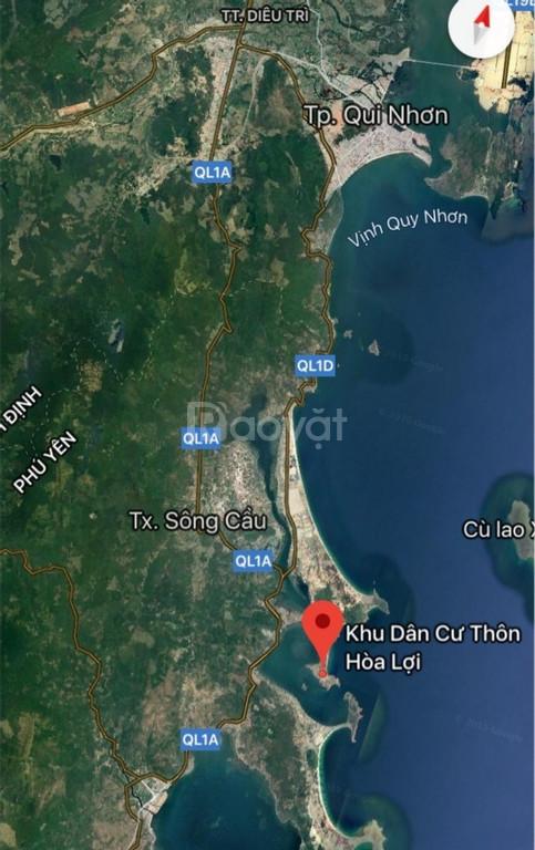 Cần bán 161m2 (ngang 7m) đất sổ đỏ đối diện biển Từ Nham, Phú Yên