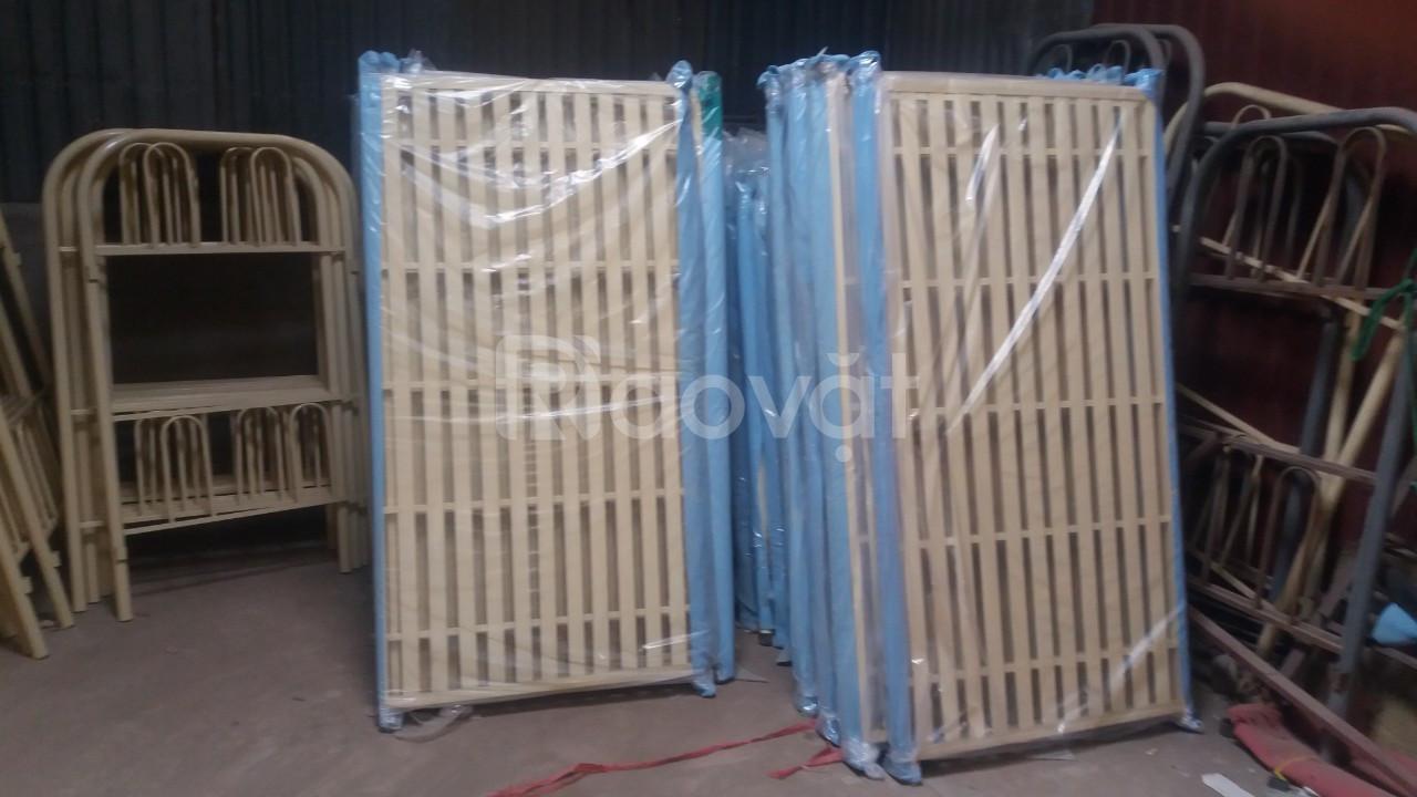 Giường sắt 2 tầng 1m,1.2m …xưởng sản xuất