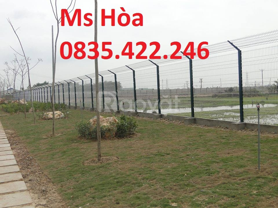 Lưới thép mạ kẽm, hàng rào lưới thép, lưới hàng rào