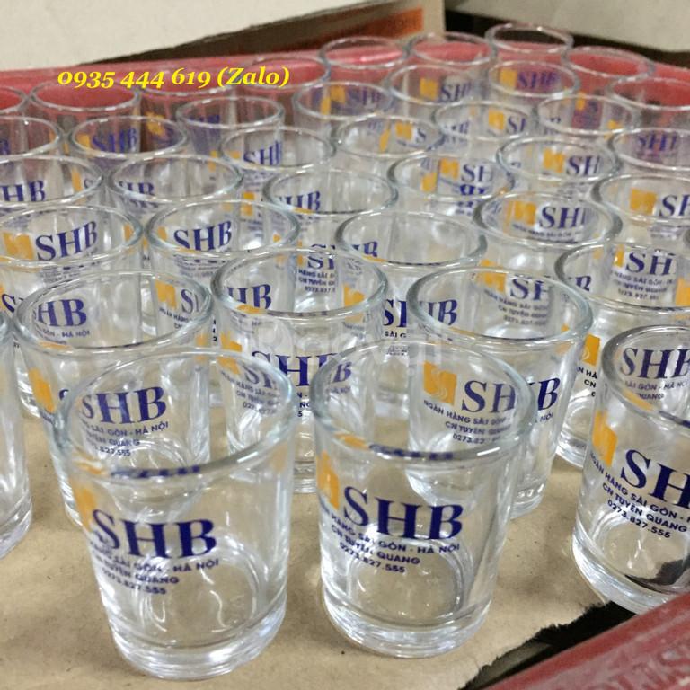 Xưởng in ly thủy tinh làm quà tặng tại Quảng Nam