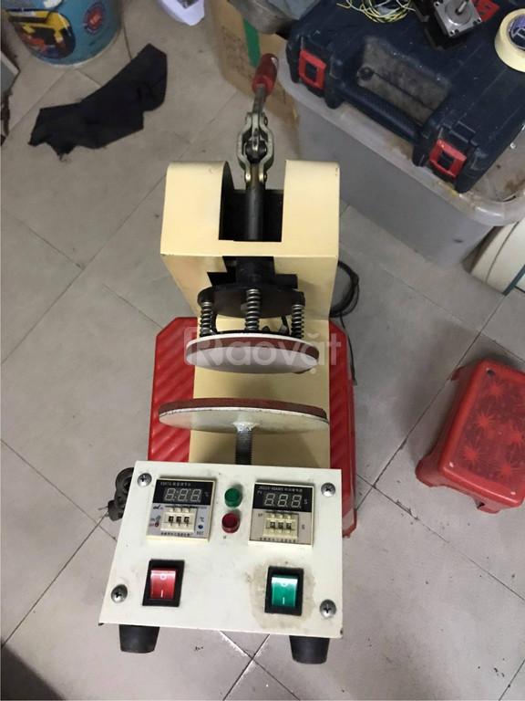 Máy ép chuyển nhiệt ly sứ và máy ép chuyển nhiệt dĩa sứ